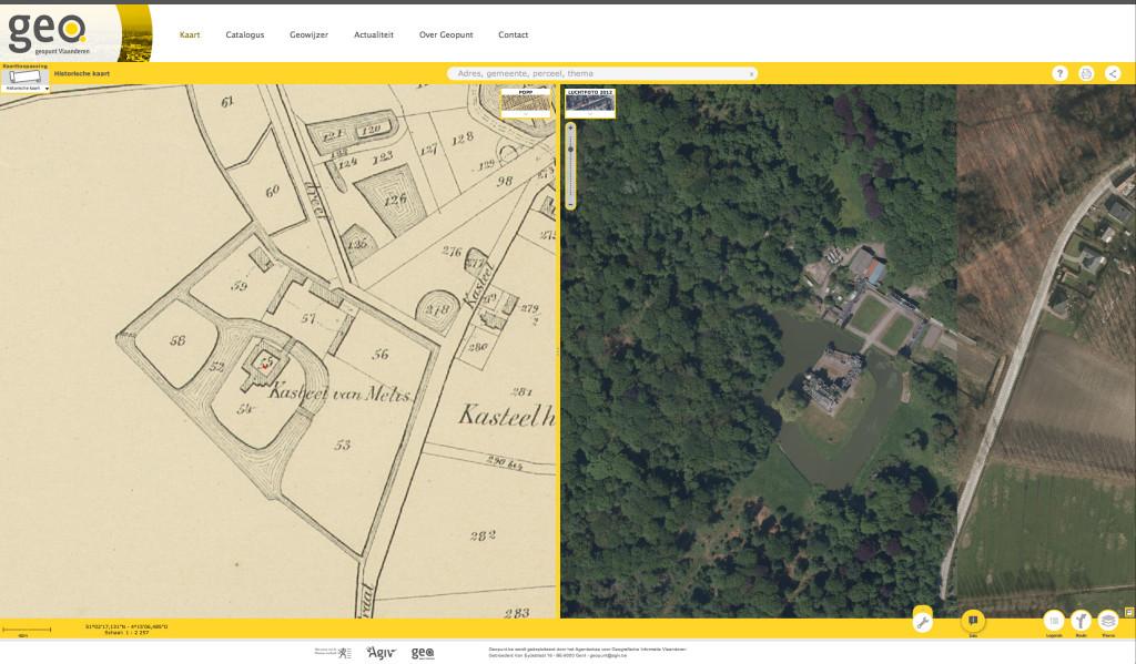 Geopunt Vlaanderen - Popp kaart_Buggenhout