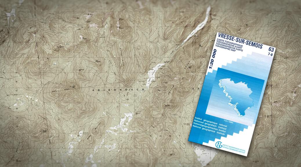 Topografische kaart zelfredzaam.be